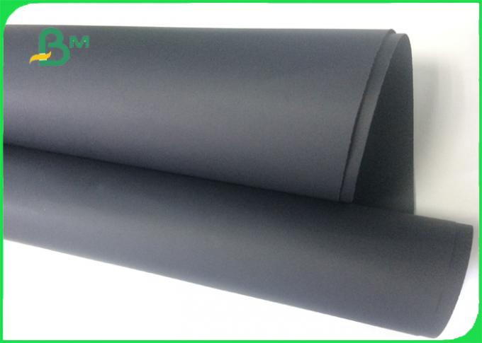 300g 350g 400g Double side black color Black paperboard For Box Packing
