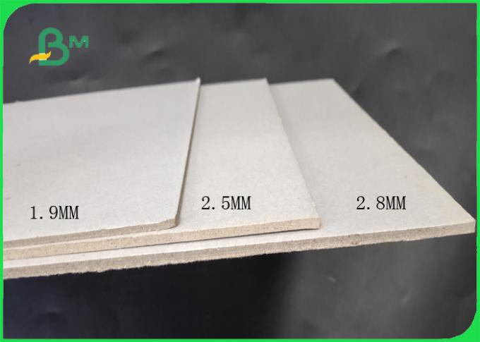 FSC 3MM 3.5MM Uncoated Grey Booking Binding Board For Photo Frame Backplane