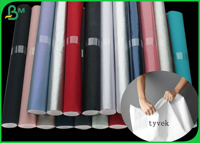 100% Recyclable And Silk surface Tyvek Fabric For Making Clothes Or Bags