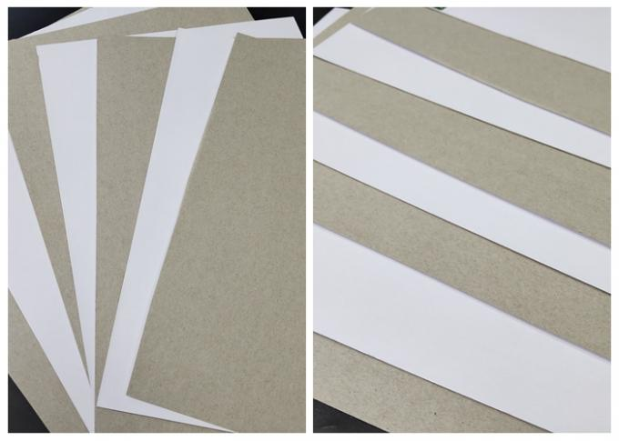 250GSM 350GSM 450GSM One Side Coated Duplex Board One Side Gray For Printing