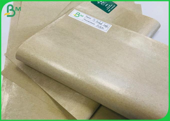 Food Grade Custom thickness Greaseproof Kraft Paper Laminated with Polyethylene