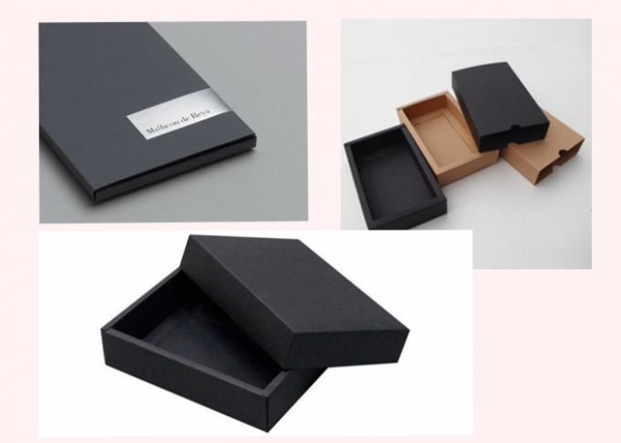 0.2 / 0.5 / 1.0 / 1.5mm Two Sides Black Board / Hard Paperboard Recycled Pulp