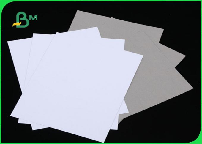 Grade AAA C1S White Paper With Grey Back Offset Printing 350gsm 400gsm