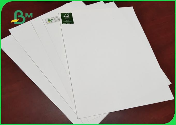 120gsm Stone Paper Material Calcium Carbonate 300mm High Resistance To Tear