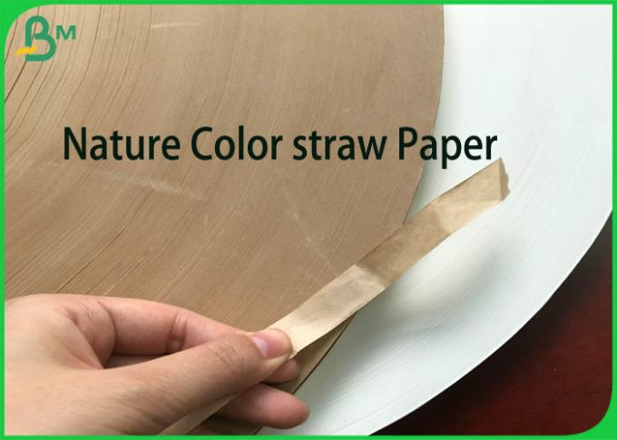 Strong Waterproof Drinking straw Paper 60g 120g Roll for Coffee Paper straws