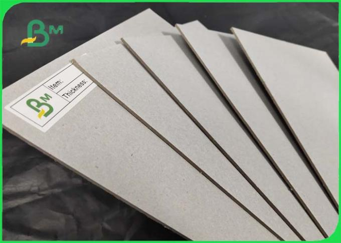 FSC Approved Laminated Book Binding Board / Grey Board To Green Red Blue