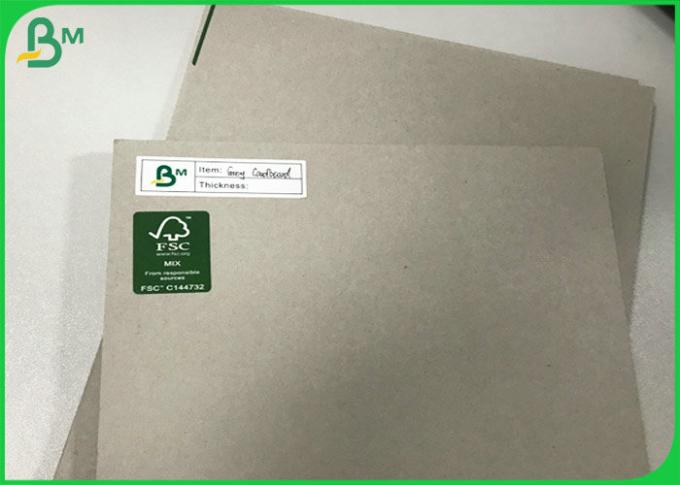 1.2mm 1.8mm 2mm Double sided Grey color Carton Gris Sheets Cardboard