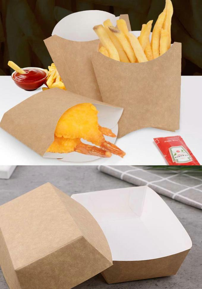325 Gram Single White Coated Kraft Paper Board For Disposable food takeaway box