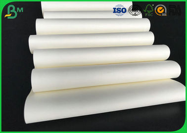 60gsm 70gsm 80gsm 90gsm Uncoated Woodfree Cream Paper Rolls Đạt chứng nhận FSC